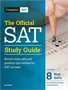 Official SAT Study Guide with REAL Tests for SAT Preparation